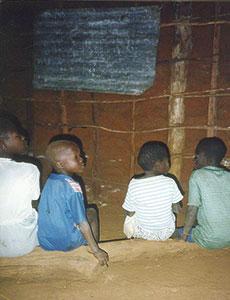 Old school  class room 1993
